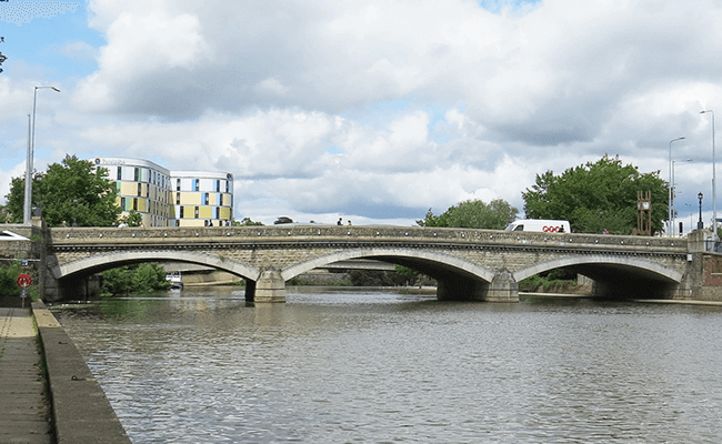 Broadway Bridge in Maidstone, Kent